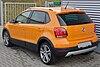 VW CrossPolo 1.2 TSI Magma Orange Rear.JPG