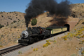 Virginia and Truckee Railroad - Image: V and t sept 19 and 20 450x RP Flickr drewj 1946