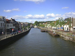 Vaartse Rijn canal in the Netherlands