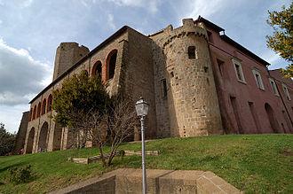Valentano - Rocca Farnese in Valentano.