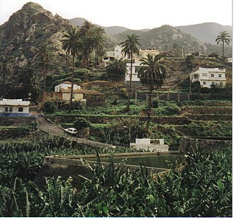 Vallehermoso, Santa Cruz de Tenerife - Landscape of Vallehermoso