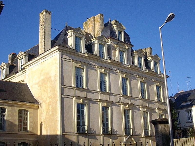 Hôtel de Limur à Vannes (Morbihan)