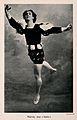 Vaslav Nijinsky, a ballet dancer, in a scene from G̀isè Wellcome V0007207.jpg