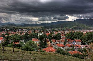 Velingrad - Velingrad in mid-June 2008