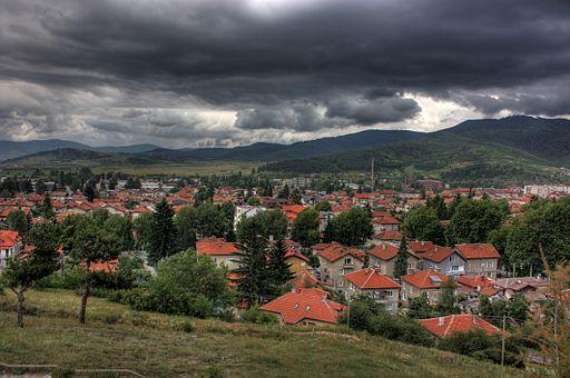 Velingrad cloudy