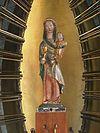 venray oostrum, rijksmonument 37228 o.l.v.kerk mariabeeld (15e eeuw) van maria-altaar