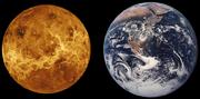 Venüs'ün boyut açısından Yer ile karşılaştırılması