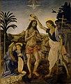 Verrocchio, Leonardo da Vinci - Battesimo di Cristo - Google Art Project.jpg