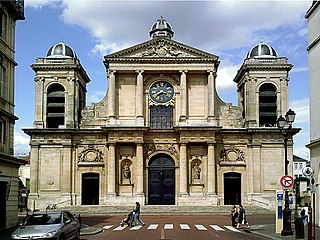 Church of Notre-Dame, Versailles church located in Yvelines, in France