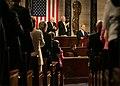 Vice President Dick Cheney, members of Congress applaud Prime Minister Ehud Olmert of Israel.jpg