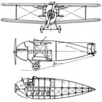 Vickers Vulcan 2-view L'Aéronautique March,1922.png
