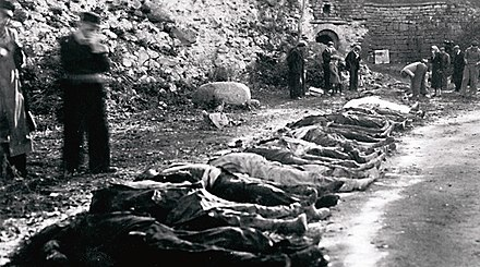 People killed by Soviet authorities in Kuressaare, Estonia, 1941. Victims of Soviet repressions in Kuressaare, Estonia, 1941.jpg
