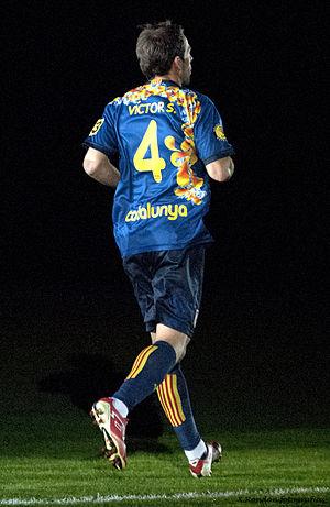 Víctor Sánchez (footballer, born 1987) - Sánchez playing for Catalonia in 2013