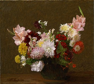 Victoria Dubourg - Image: Victoria Dubourg (Fantin Latour) Flowers Google Art Project