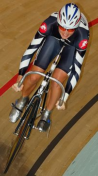 British cyclist Victoria Pendleton comes 1st i...