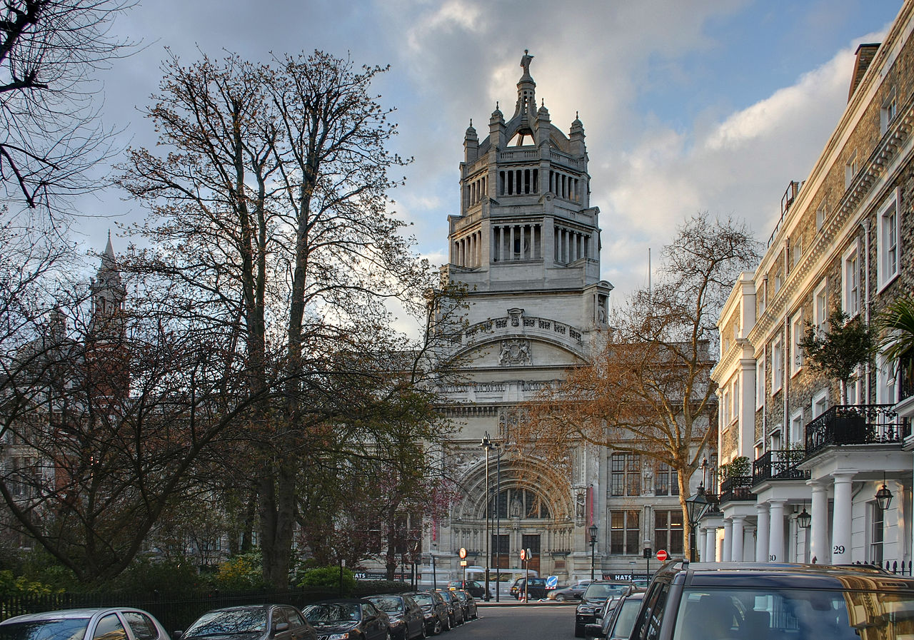 Photo of the Victoria and Albert Museum building (image: David Castor)