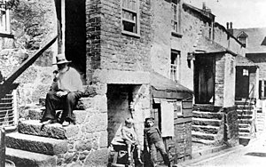 Working class - Working class life in Victorian Wetherby, West Riding of Yorkshire, England, the UK.