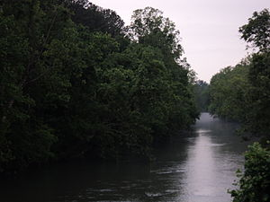 Smith River (Virginia) - Evening view, Smith River, Henry County, Virginia