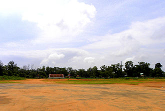 Urban open space - Asramam Maidan in Kollam city, India. It is the largest open space available in any of the city limits in Kerala state.