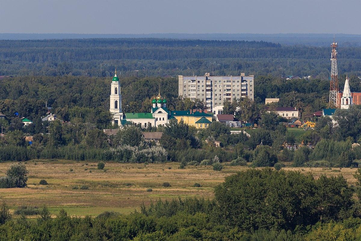 Борский район нижегородская область карта