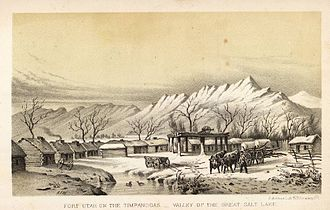 Timpanogos - Fort Utah in 1850