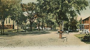 Westborough, Massachusetts - Main Street in c. 1905