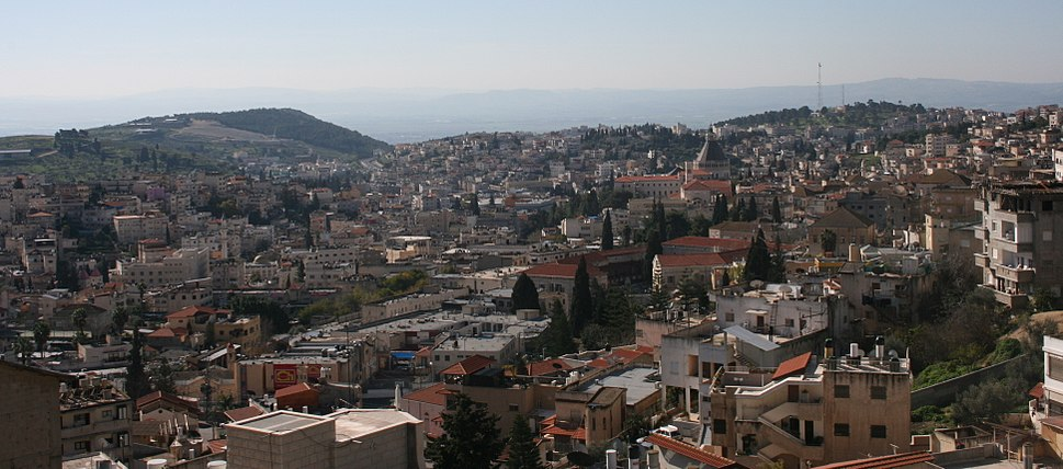 View of Nazareth from El Kishleh neighborhood