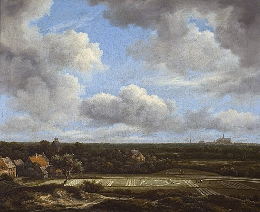 View of the plain of Haarlem with bleaching grounds, by Jacob Isaacksz van Ruisdael
