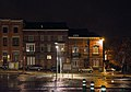 View outside of the Nivelles train station on a rainy night (DSC 0042).jpg