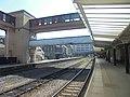 View towards Leeds from Platform 1, Harrogate railway station (19th April 2019).jpg