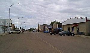 Viking, Alberta - Main Street