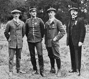 Gustaf Boivie - Gustaf Boivie (right) at the 1912 Olympics