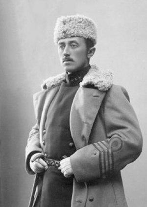 Vilhelm Swedenborg - Vilhelm Swedenborg in 1908