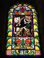 Villerest (Loire, Fr), un vitrail dans l'église.JPG