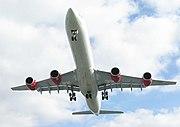 Virgin Atlantic Airbus A340-600 G-VYOU Emmeline Heaney