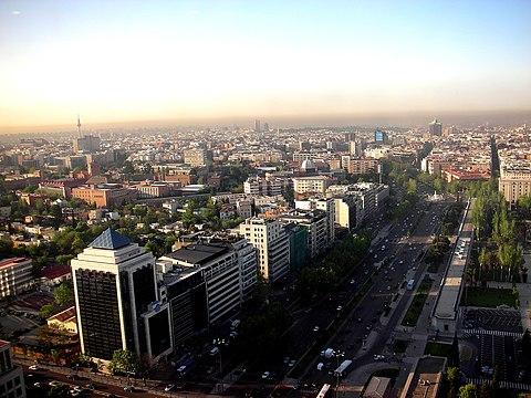 Vista de Madrid Salamanca
