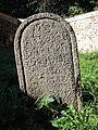 Vlachovo Březí, židovský hřbitov, náhrobky, 05.jpg