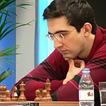 Reigning World Champion Vladimir Kramnik in 2005