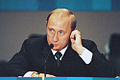 Vladimir Putin at the Millennium Summit 6-8 September 2000-22.jpg