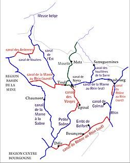 Canal de la Meuse canal