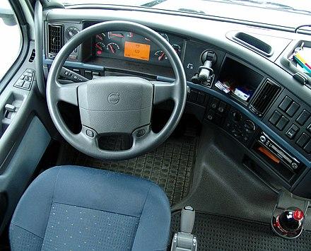 Arbeitsplatz Eines Volvo Lkw (ab 2001)