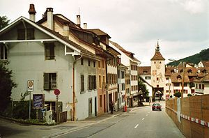 Liestal - Image: Vorstadt 2000