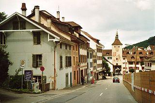 Liestal Place in Basel-Landschaft, Switzerland