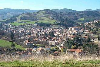 Bourg-Argental - A general view of Bourg-Argental