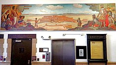 WPA mural Spanish Explorers and American Indians Oscar Berninghaus.jpg