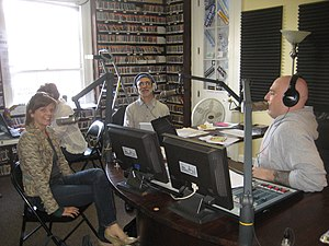 Fund drive time at community supported radio s...
