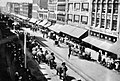 W side 300 block S Broadway during Pachyderm Parade 1905.jpg