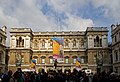 Waiting for the Hockney exhibition at the RA (7048871937).jpg