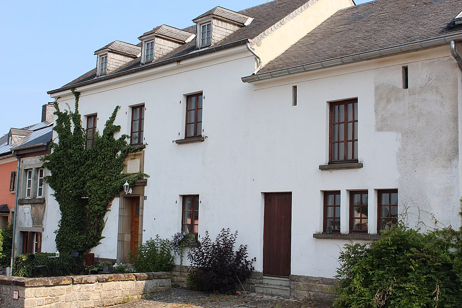 Home of Luxembourgish author Michel Rodange in Waldbillig, 3, rue Michel-Rodange