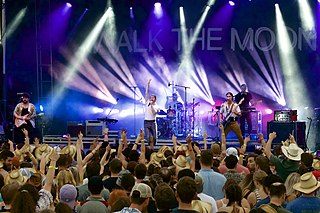 Walk the Moon American rock band based in Cincinnati, Ohio
